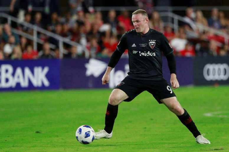 Rooney shone as his side grabbed a late win. AFP