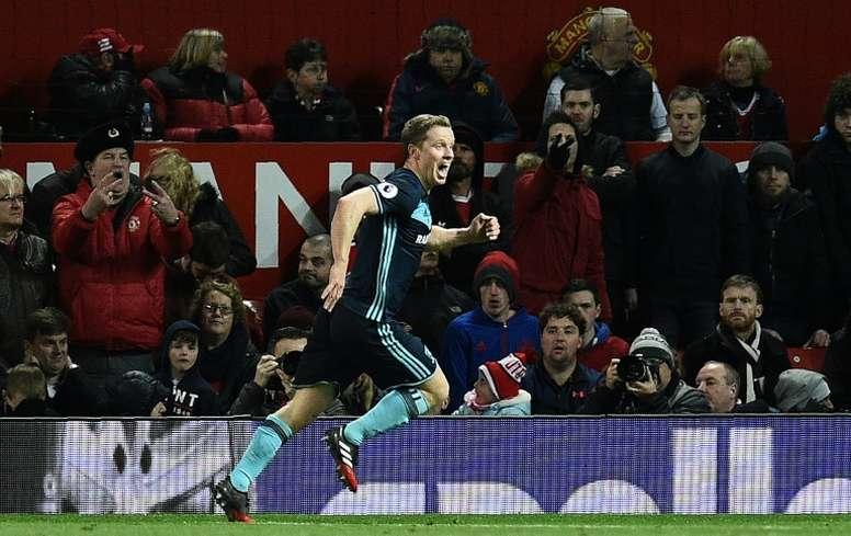 El centrocampista, en el punto de mira del Sunderland. AFP