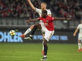 Paul Ince critica duramente Paul Pogba. AFP