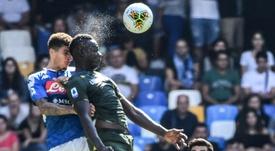 Balotelli scores but Brescia fall to Napoli, Dzeko seals Roma win. AFP