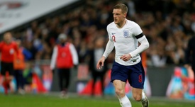 Jamie Vardy announced his international retirement on Wednesday. AFP