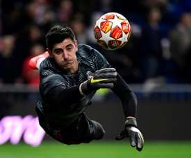 Courtois has struggled since joining Real Madrid last summer. AFP