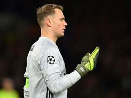 Neuer explode contra o Bayern de Munique. AFP