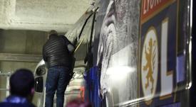 Lyon bus stoned by Marseille fans in pre-match ambush - again. AFP