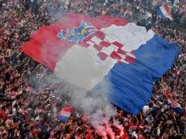 Croacia se solidariza con los jóvenes de Tailandia. AFP