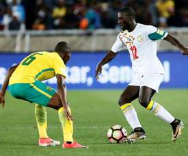 Senegal edged to a 2-1 victory over South Africa on Tuesday. AFP