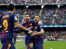 Messi é o rei das assistências. AFP