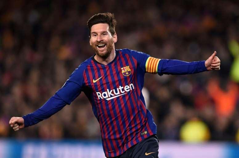 El Barça después de Messi. AFP