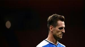 Milik has moved to Marseille on loan until summer 2022. AFP