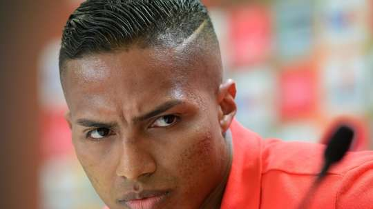 Antonio Valencia revealed that he has been dropped by Jose Mourinho. AFP