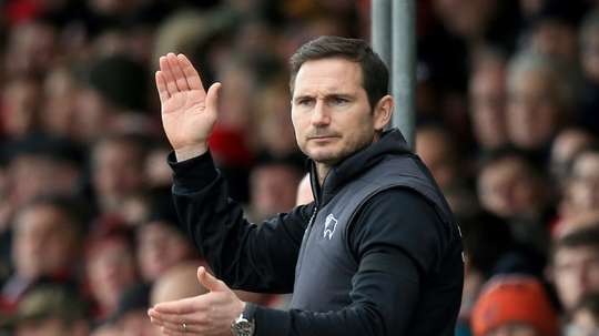 Lampard is close to sealing a move to Chelsea. AFP