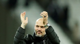 Ljungberg could see himself away from Arsenal soon. AFP