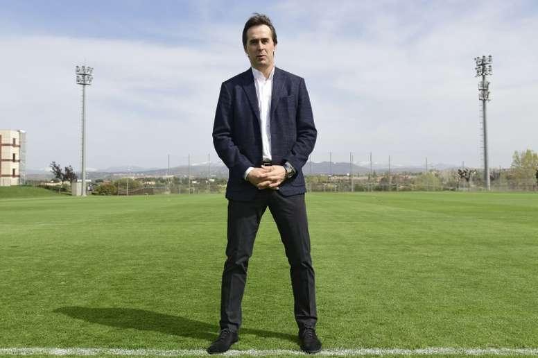 Lopetegui entraînera le Real après le Mondial en Russie. AFP