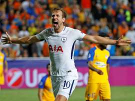 Kane scored 13 goals in eight appearances for club and country in September. AFP