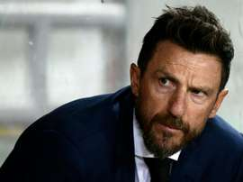 Roma Eusebio Di Francesco. AFP