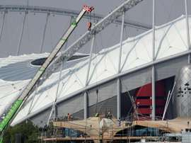 Qatar World Cup fixtures could prove difficult for British fans to watch. AFP