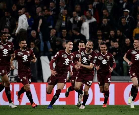 Un cas positif au Torino. AFP