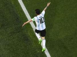 Messi estará na Copa América. AFP