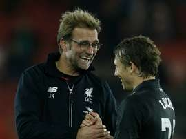 Liverpool manager Jurgen Klopp gets on well with his team. BeSoccer