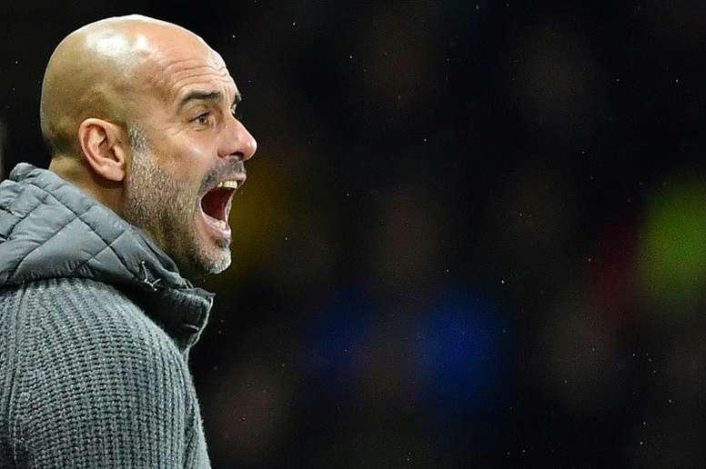 Pep Guardiola ha sido protagonista, pero por las razones equivocadas. AFP/Archivo