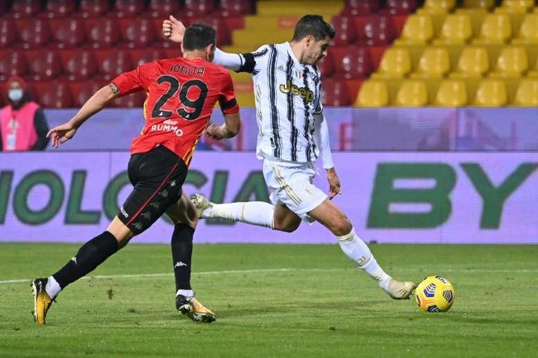 Le formazioni ufficiali di Juventus-Dinamo Kiev. AFP