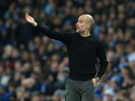 Pep Guardiola has told Ferran Soriano he will stay at Man City. AFP