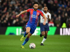 Townsend was the star turn for the victorious Palace side. AFP
