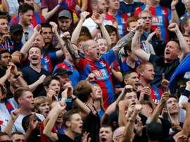 El Crystal Palace perdió un partido que había remontado. AFP