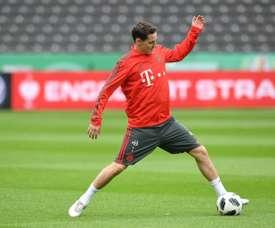 Schalke est le principal intéressé pour Rudy. AFP
