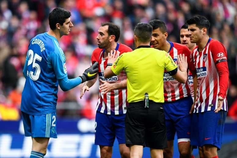 El Atlético encadenó dos derrotas en Liga. AFP