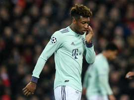 Coman has not played for France for 18 months. AFP