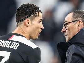 La Juventus reducirá los salarios del primer equipo. AFP