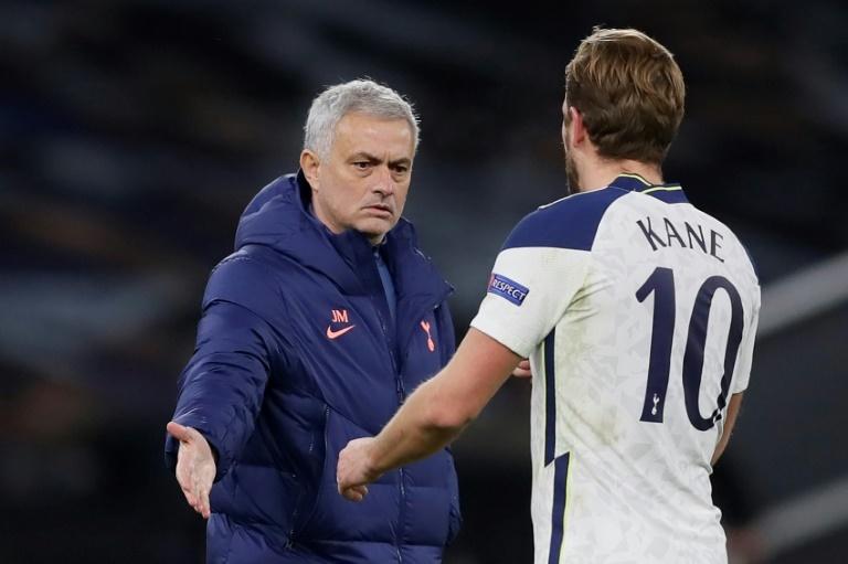 Mourinho elogió a Kane y Benzema