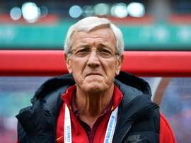 Lippi is under real pressure for almost the first time. AFP