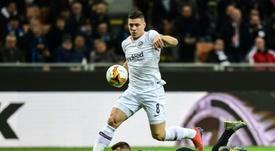 El Eintracht ejerce la opción de compra por Jovic. AFP