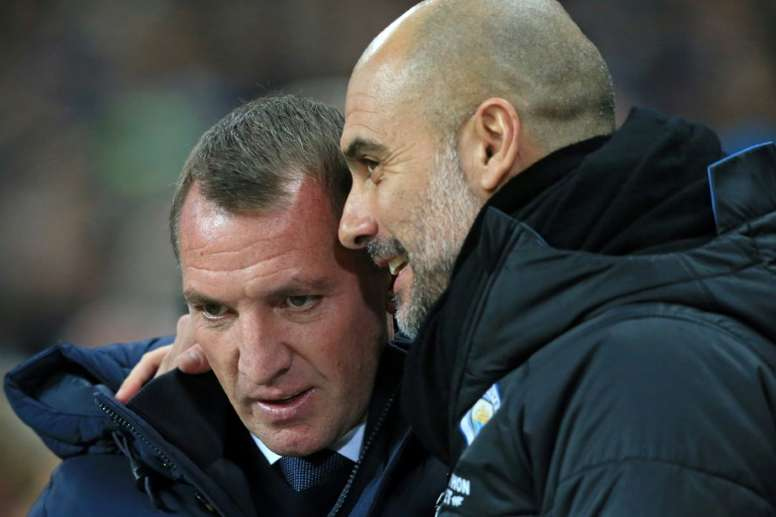 Rodgers sait comment battre Guardiola. AFP