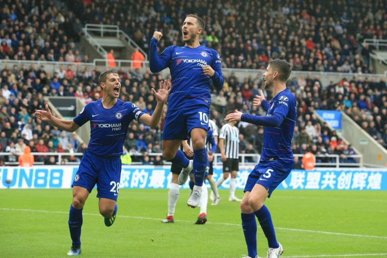 Sarri hails Chelsea's character in win over Newcastle