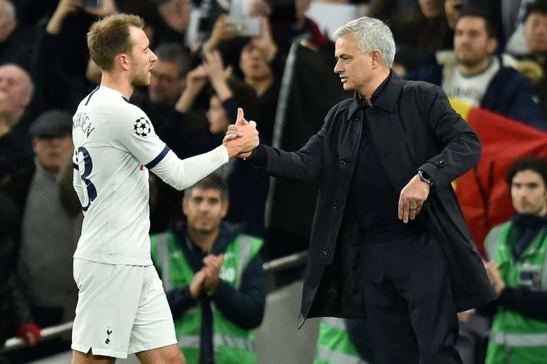 No even Mourinho can change Eriksen's mind; Madrid awaits. AFP