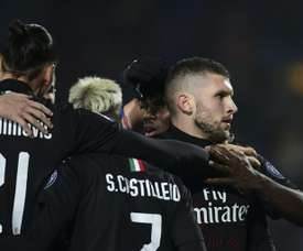Milan want Rebic on a permanent deal. AFP