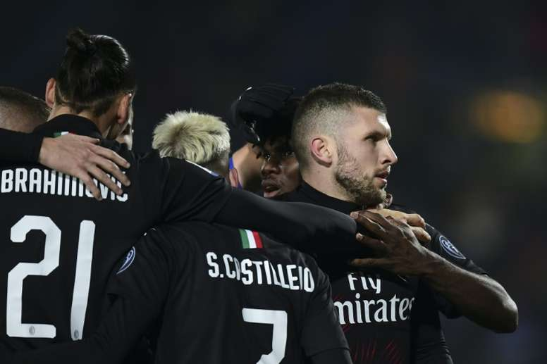 Rebic fires resurgent AC Milan into Europa League places. AFP