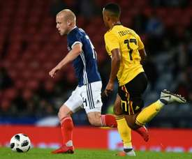 Steven Naismith is set to return to the Scotland squad after almost a year out. AFP