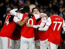Arsenal won 3-2. AFP