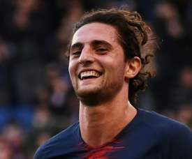 Rabiot wants to put his troubled time at PSG behind him. AFP