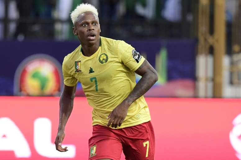 Cameroon striker Njie signs for Dynamo Moscow. AFP