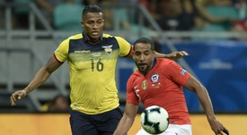 Antonio Valencia is going back to his home country. AFP