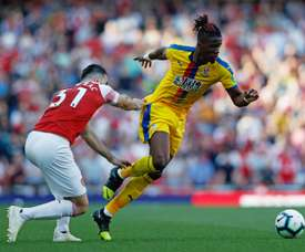 Crystal Palace's Wilfried Zaha is a target for Arsenal. AFP