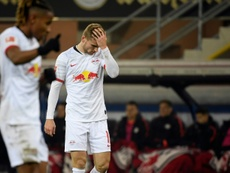 Nervy Leipzig go top and Klinsmann's new side lose. AFP
