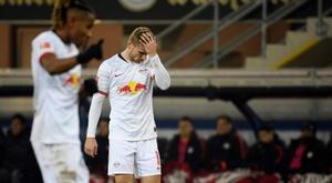 Nervy Leipzig go top and Klinsmann's new side lose. AFP