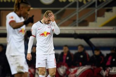 Chelsea veut faire changer d'avis Timo Werner. AFP