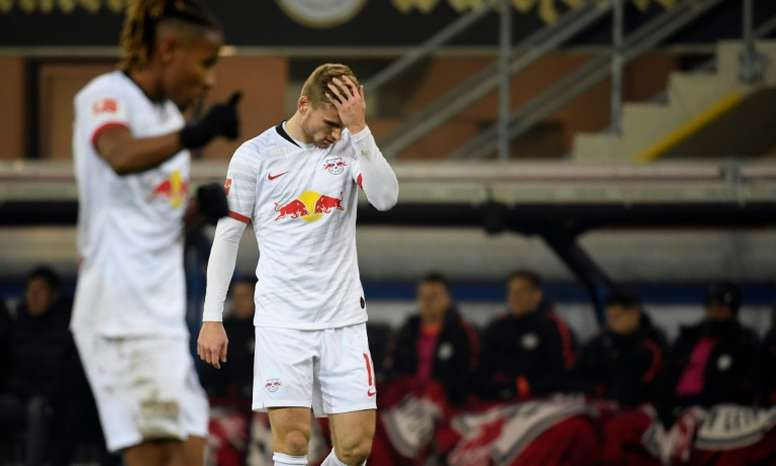 Timo Werner proche de Manchester United. afp